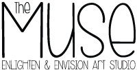 The Muse Art Studio Logo