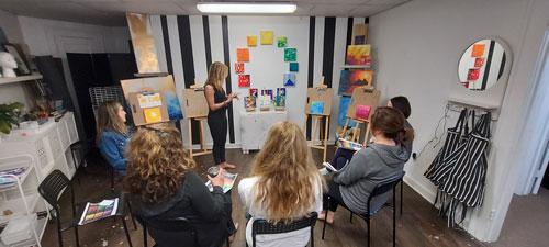 Creating Clarity - Liz teaching class